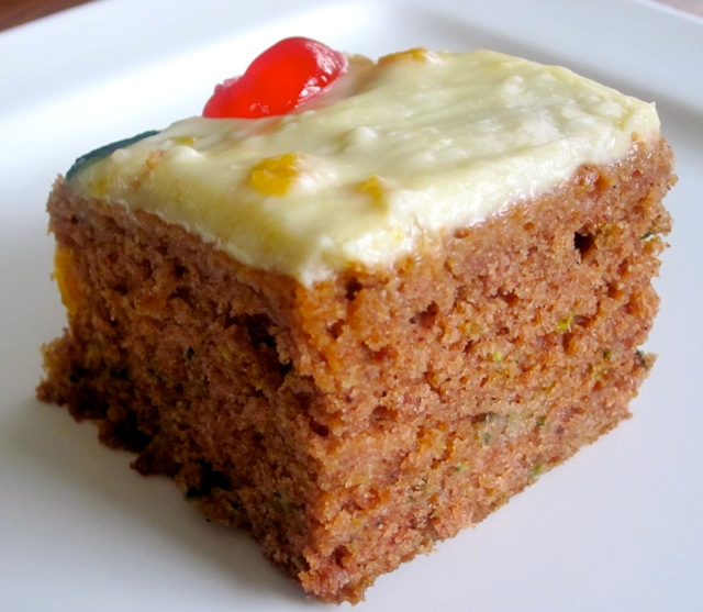 Zucchini Apple Cake with Cream Cheese Frosting myfavouritepastime.com ...