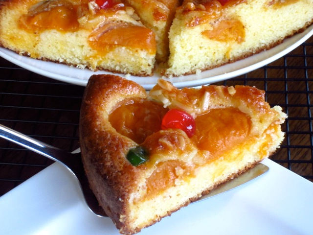 Apricot Almond Cake myfavouritepastime.com
