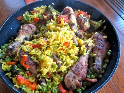 Chicken Paella myfavouritepastime.com_7252