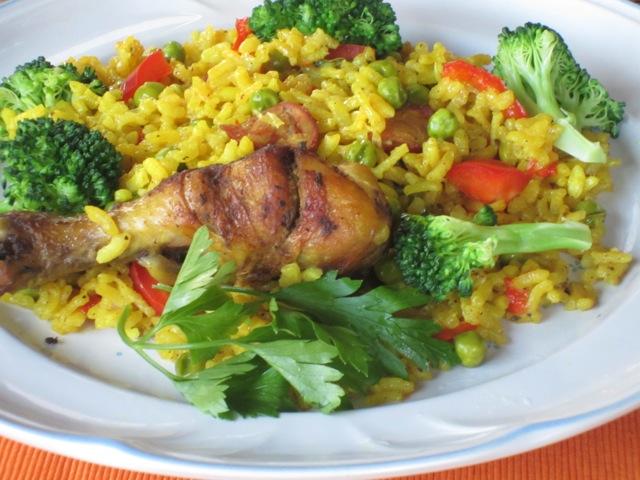 Chicken Paella myfavouritepastime.com_7314