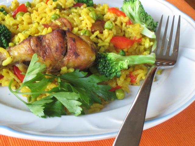 Chicken Paella myfavouritepastime.com_7326
