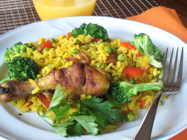 Chicken Paella myfavouritepastime.com_7332