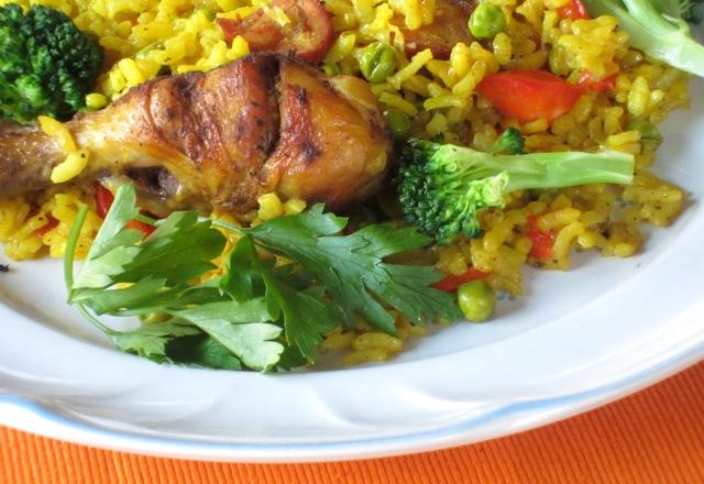 Chicken Paella myfavouritepastime.com_7352