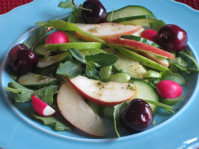 Cucumber, Apple and Celery Salad with Chicken myfavouritepastime.com_7181