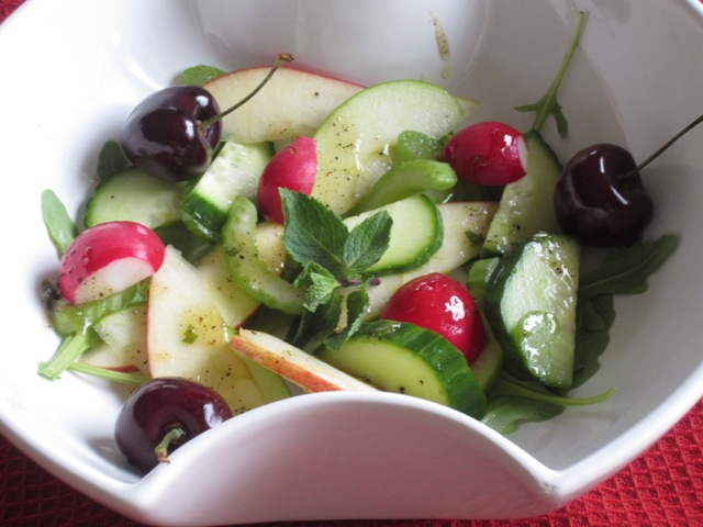 Cucumber, Apple and Celery Salad with Chicken myfavouritepastime.com_7184