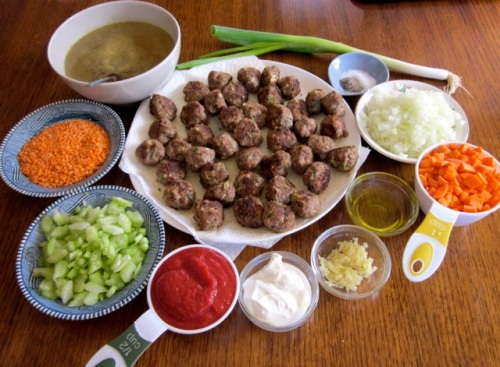 Lentil Carrot Soup with Meatballs myfavouritepastime.com_7310