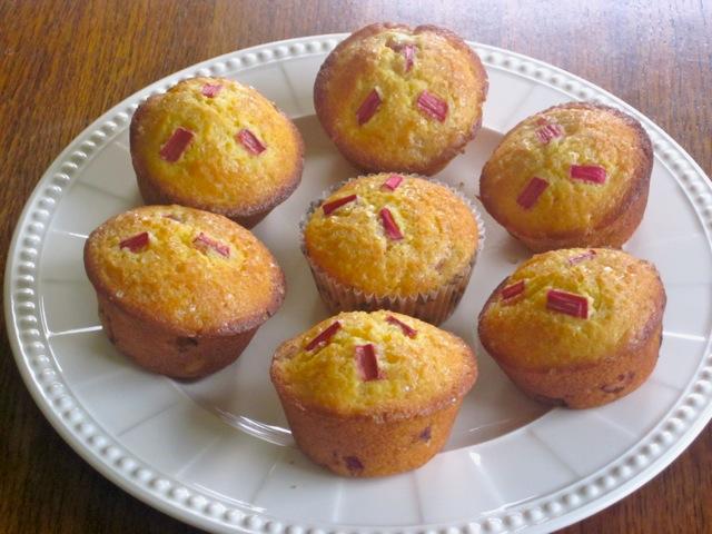 Rhubarb Muffins myfavouritepastime.com_6390