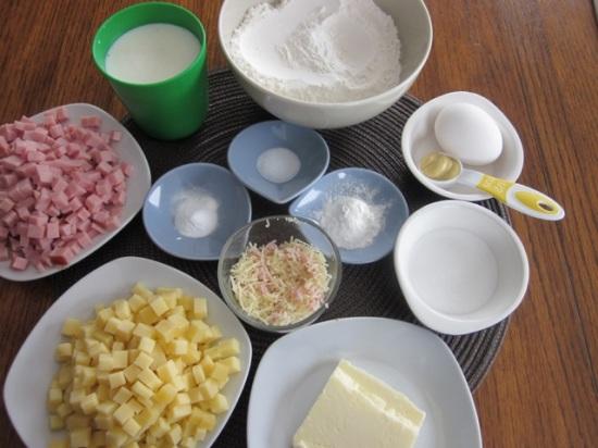 Smoked Ham and Cheese Muffins myfavouritepastime.com_7975
