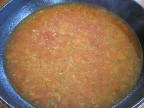 Tomato Corn Pasta Soup with Sugar Snap Peas myfavouritepastime.com_7077