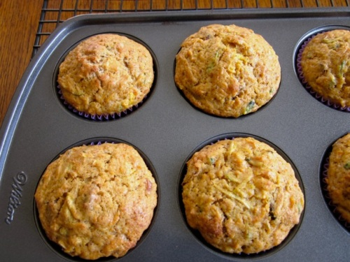 Zucchini Carrot Date Muffins myfavouritepastime.com_7246