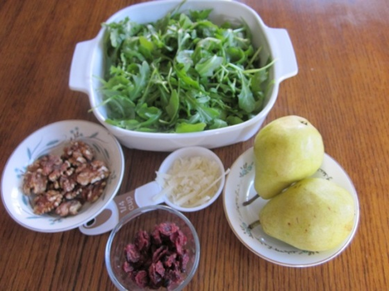 Arugula and Pear Salad myfavouritepastime.com_7984