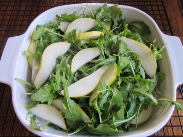 Arugula and Pear Salad myfavouritepastime.com_7987