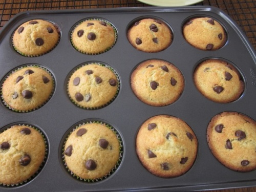 Chocolate Chip Muffins myfavouritepastime.com_8149