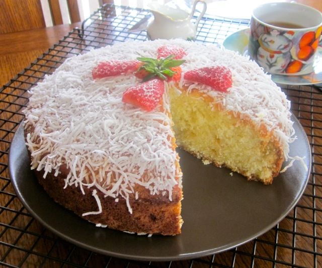 Freshly Grated Coconut Cake