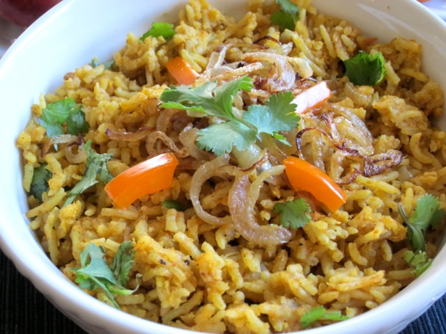 Curried Rice And Lentils My Favourite Pastime Recipes Dishmaps
