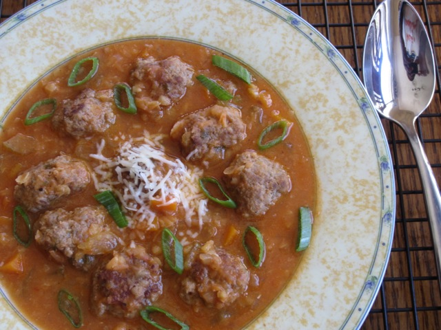 Lentil Carrot Soup with Meaballs myfavouritepastime.com_8063
