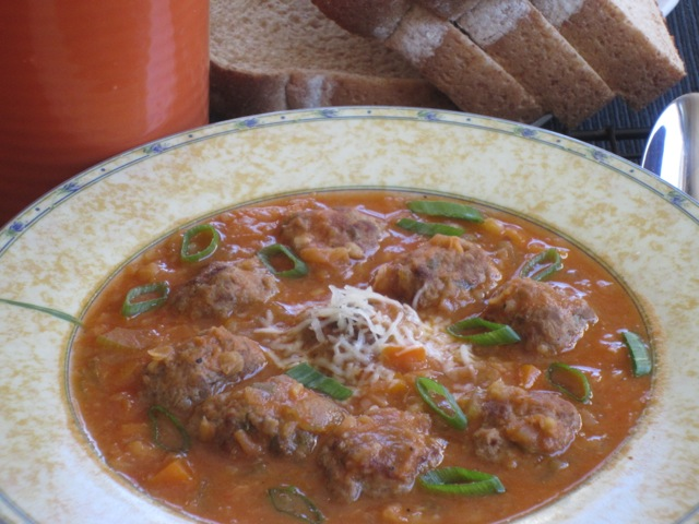 Lentil Carrot Soup with Meaballs myfavouritepastime.com_8104