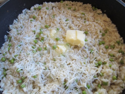 Risotto with White Wine Peas and Parmesan myfavouritepastime.com_0356