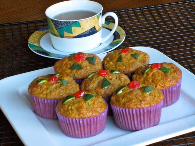 Zucchini Carrot Date Muffins myfavouritepastime.com_7927
