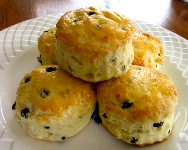Sour Cream and Currant Scones myfavouritepastime.com_8715