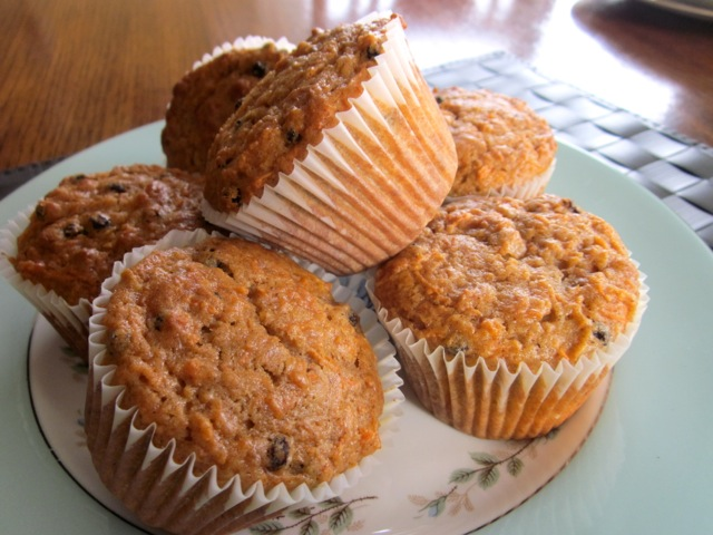 Spiced Carrot and Currant Muffins myfavouritepastime.com_8407