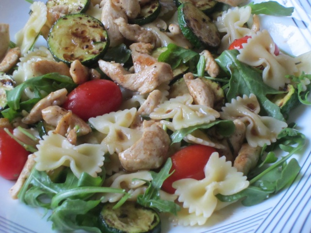Warm Pasta Salad with Chicken myfavouritepastime.com_0763