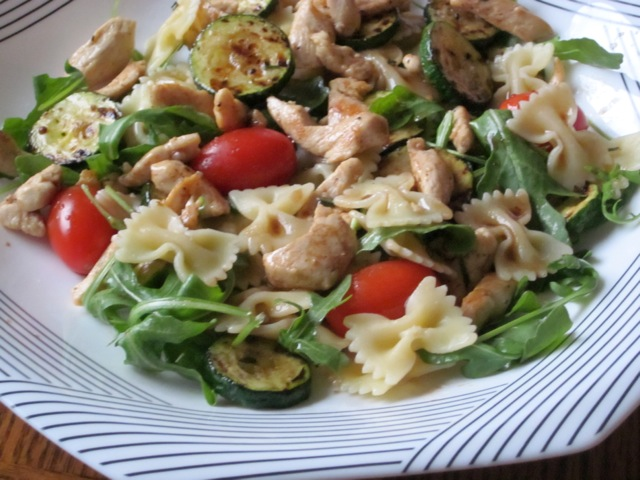 Warm Pasta Salad with Chicken myfavouritepastime.com_8662