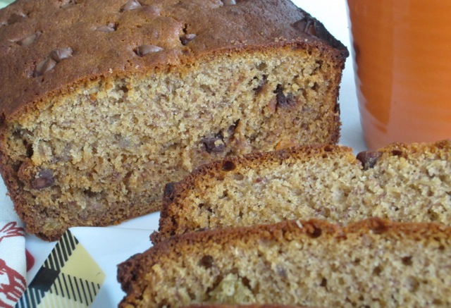 Banana Honey Sultana Loaf with Chocolate Chips myfavouritepastime.com_1171