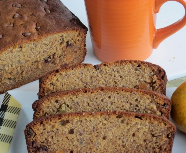 Banana Honey Sultana Loaf with Chocolate Chips myfavouritepastime.com_9553