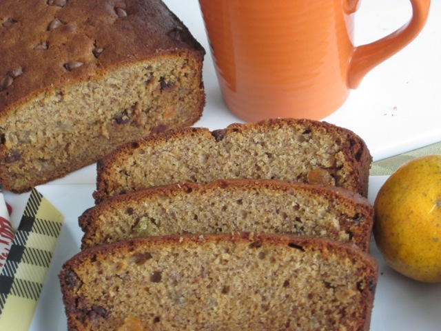 Banana Honey Sultana Loaf with Chocolate Chips myfavouritepastime.com_9554