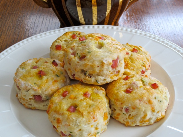 Cheese and Ham Buttermilk Scones | My Favourite Pastime