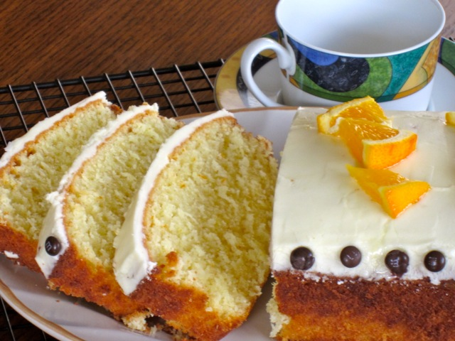 Orange Coconut Cake Recipe — Dishmaps
