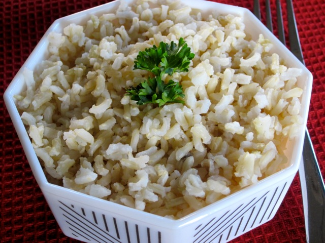 how to properly cook brown rice
