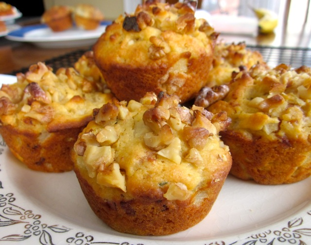 Pear, Walnut and Bacon Muffins myfavouritepastime.com_7922