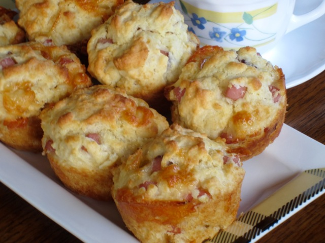 Smoked Ham and Cheese Muffins myfavouritepastime.com_0095