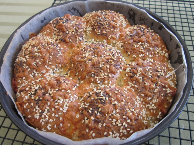 Cheese, Basil and Sun-dried Tomato Bread myfavouritepastime.com_0079