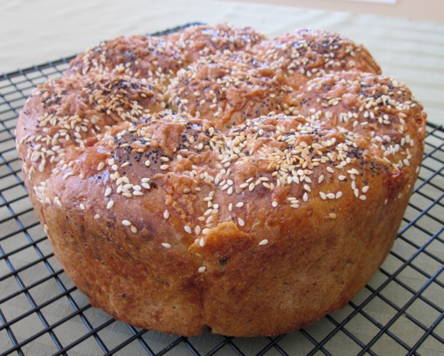 Cheese, Basil and Sun-dried Tomato Bread myfavouritepastime.com_0086