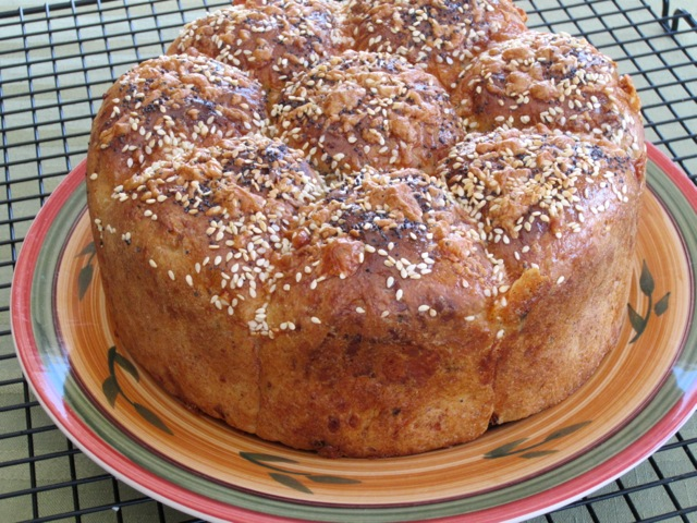 Cheese, Basil and Sun-dried Tomato Bread myfavouritepastime.com_1304