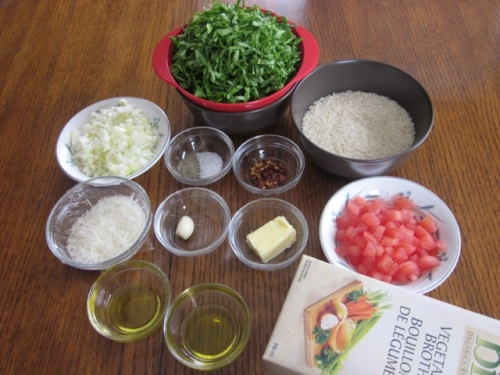 Basmati Rice with Spinach and Parmesan myfavouritepastime.com_2015