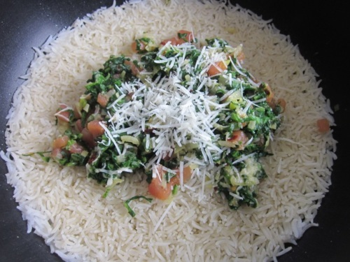 Basmati Rice with Spinach and Parmesan myfavouritepastime.com_2028