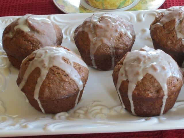 Sweet Potato Muffins with Maple Glaze myfavouritepastime.com_1883
