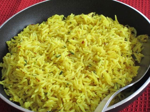 Coconut rice with turmeric myfavouritepastime.com_1630