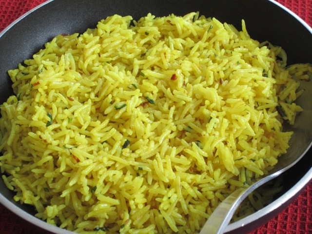 Coconut rice with turmeric myfavouritepastime.com_1631