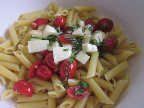 Penne with Tomatoes and Mozzarella myfavouritepastime.com_0747