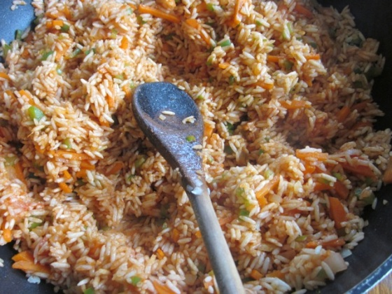 Basmati Rice with Carrot and Peas myfavouritepastime.com_1969