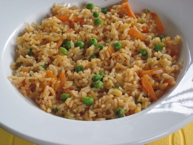 Basmati Rice with Carrot and Peas myfavouritepastime.com_1973