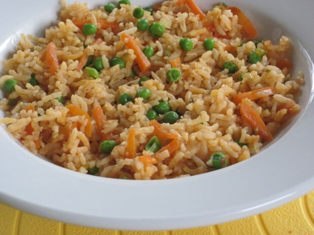 Basmati Rice with Carrot and Peas myfavouritepastime.com_1976