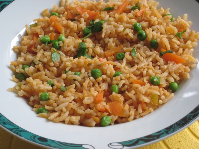 Basmati Rice With Carrot And Peas My Favourite Pastime