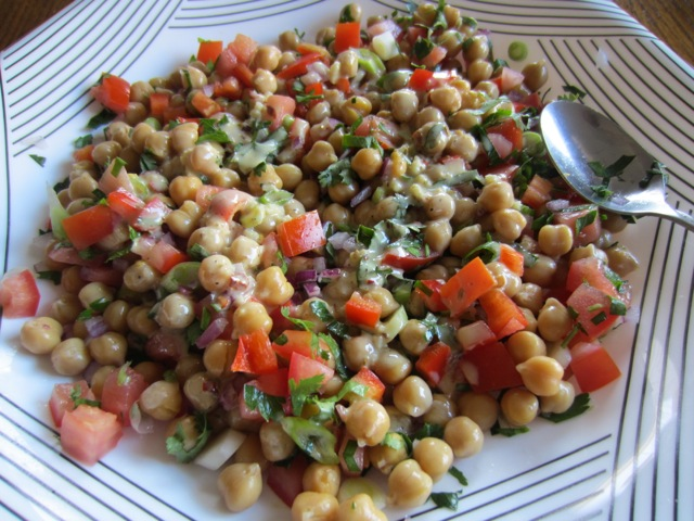 Chickpea Salad with Tahini Dressing myfavouritepastime.com_2356