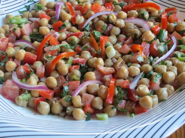 Chickpea Salad with Tahini Dressing myfavouritepastime.com_2360